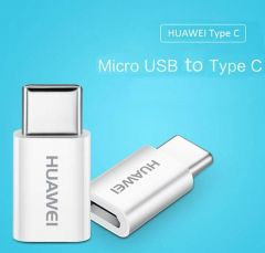 Huawei 5V2A Micro USB To Type C Adapter