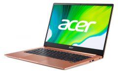 "Acer Swift 3 SF314-59-31X2, Intel Core i3-1115G4, 14"" IPS FHD (1920x1080) AG, HD Cam, 8GB DDR4, 256GB PCIe NVMe SSD, Intel Iris Xe Graphics, Wi-Fi 6 AX201, BT 5.0, MS Win 10 Home, Melon Pink"