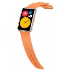 Huawei Orange Silicone Strap for Watch Fit