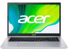 "Acer Aspire 3, A317-33-P2Q5, Intel Pentium Silver N6000 (up to 3.3GHz, 4MB), 17.3"" FHD IPS, Cam&Mic, 8 GB DDR4, 256GB SSD PCIe, Intel UMA Graphics, 802.11ac, BT 5.0, Linux, Silver"