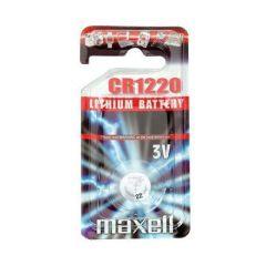 Бутонна батерия литиева MAXELL  CR-1220 3V