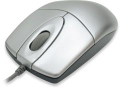 Оптична мишка A4tech OP-620D, USB, Сребрист