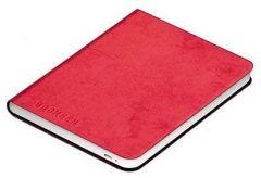 Калъф кожен BOOKEEN Classic, за eBook четец DIVA, 6 inch, магнит, Червен