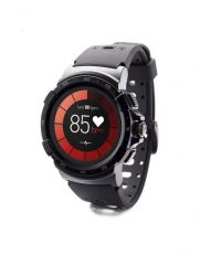 Смарт часовник MyKronoz ZeSport 2, Тъч екран, GPS, Черен