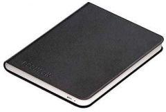 Калъф кожен BOOKEEN Classic, за eBook четец DIVA, 6 inch, магнит, Черен