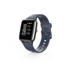 "Смарт часовник Hama Fit Watch 4900, 1.3"", Пулс, Пидометър, Калории, Водоустойчив, Черен"