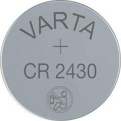 Бутонна батерия литиева CR 2430 1pc  bulk 3V  VARTA