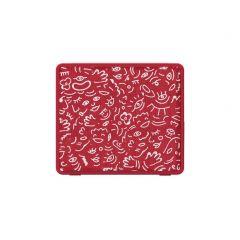 Блутут мобилна колонка HAMA колонка Pocket HaHaHa Feel, 3 W, Червен