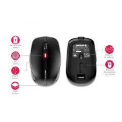 Безжична мишка CHERRY MW 8 ADVANCED, USB, Bluetooth/2.4Ghz, Черна