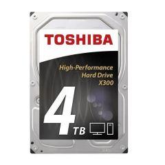 Хард диск TOSHIBA X300, 4TB, 7200rpm, 128MB, SATA 3