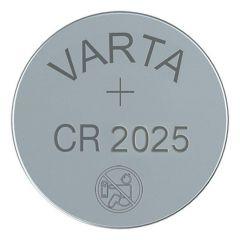 Бутонна батерия литиева CR 2025 1pc  bulk 3V  VARTA