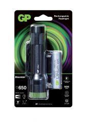 Фенер акумулаторен  CR41 LED 600 лумена CREE Discovery Outdoor GP