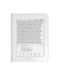 """eBook четец BOOKEEN Diva 6"""", тъч, подсветка, бял"""