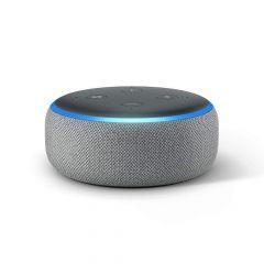 Преносима смарт тонколона Amazon Echo Dot 3 Heather Grey, гласов асистент, Сив