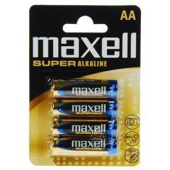Супералкална MAXELL LR-6 XL /4 бр. в блистер/ 1.5V
