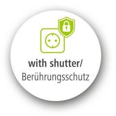 Разклонител  HAMA 137353, 3 гнезда, USB 3.4A, 1.4м, Бутон вкл/изкл, Защита срещу деца, Черен