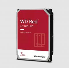 Хард диск WD RED, 3000 GB, 5400RPM,  64MB, SATA 3, WD30EFAX
