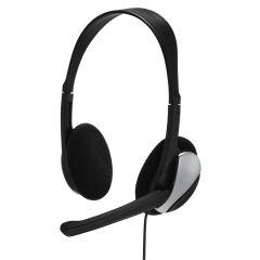 Слушалки HAMA Essential HS 200 139900, Микрофон, Черен