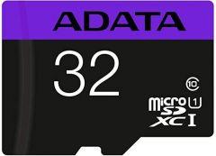 Карта памет ADATA microSDHC 32GB, Class 10, UHS-I, Адаптер