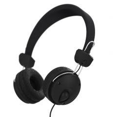 Стерео слушалки HAMA Fun4Phone, Стерео, Микрофон, Черен