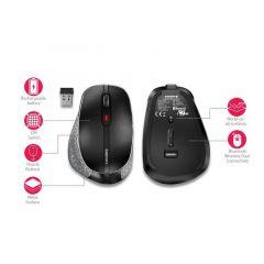Безжична мишка CHERRY MW 8 ERGO, USB, Bluetooth/2.4Ghz, Черна