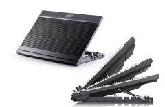 "Охладител за лаптоп DeepCool N9BLACK, 17"", 180 mm, Черен"