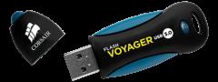Флаш памет Corsair Voyager 3.0 16GB USB 3.0, Durable and Shock-
