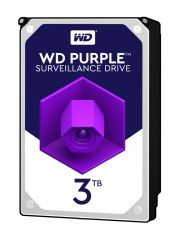 HDD 3TB SATAIII WD Purple 64MB for DVR/Surveillance (3 years