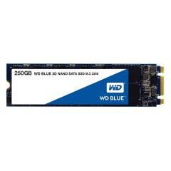 SSD WD Blue 3D NAND 250GB M.2 2280(80 X 22mm) SATA III, read-