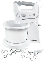 Миксер Bosch MFQ36460 Hand mixer 450 W White includes bowl