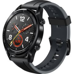 "Huawei Watch GT, FTN-B19S, 1.39"" Amoled, 454 x 454, Silicone sports strap, Black"