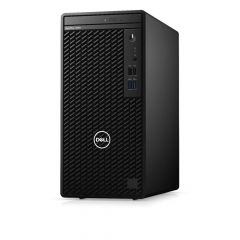 Dell Optiplex 3080 MT, Intel Core i3-10100 (6M Cache, up to 4.3 GHz), 4GB 2666MHz DDR4, 1TB SATA, Integrated Graphics, DVD RW, Keyboard&Mouse, Win 10 Pro (64bit), 3Y Basic Onsite