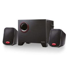Звукова система Ewent EW3505, 2.1, 2x2.5W, 1x10W Subwoofer, Черна