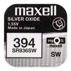 Бутонна батерия сребърна MAXELL SR-936 SW /AG9/, 394 1.55V