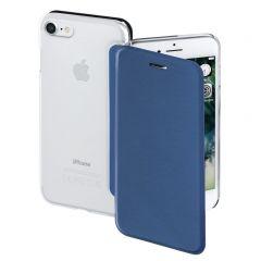 Калъф HAMA Clear за Apple iPhone 7/8, Тъмно син