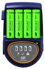 Зарядно устройство GP PB570GS270, 4 AA, NiMH, 2700mAh, FAST