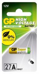 Алкална батерия GP 12 V 1 бр. в опаковка за аларми А27