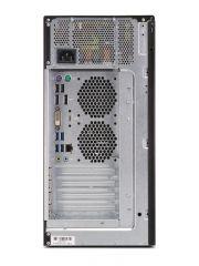 Работна станция Fujitsu CELSIUS W580, CPU Intel Xeon E-2134 3.50GHz 8MB, RAM 8GB, 1TB, 280W, no OS, Черен