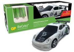 Зарядно у-во GP BATTERIES PB420, АА & ААА, + 6 батерии АА, 2000mA, подарък кола с дистанционно управление