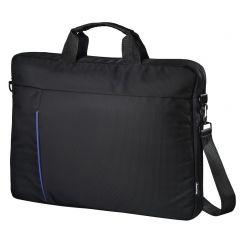 """Чанта за лаптоп HAMA Cape Town, 40 cm (15.6""""), Черен/Син"""