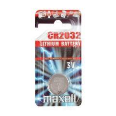 Бутонна батерия литиева MAXELL CR-2032 3 V