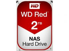 Хард диск WD RED, 2TB, 5400rpm, 64MB, SATA 3