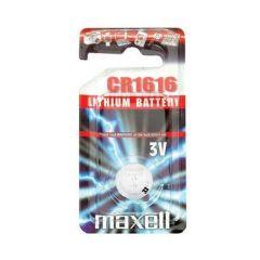 Бутонна литиева батерия MAXELL CR-1616 3V
