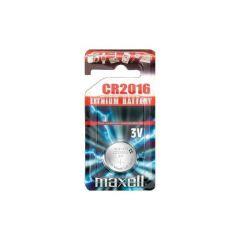Бутонна литиева батерия MAXELL CR-2016 3V