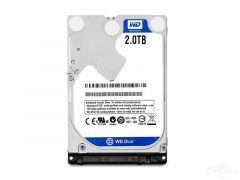 Хард диск за лаптоп WD Blue, 2TB, 128MB, SATA3, 5400 rpm, WD20SPZX