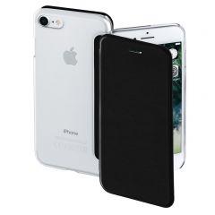 Калъф HAMA Clear за Apple iPhone 7/8, Черен