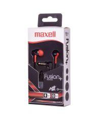 Блутут слушалки Maxell BT Fusion, rosso
