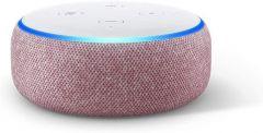 Преносима смарт тонколона Amazon Echo Dot 3 Charcoal, гласов асистент, Plum