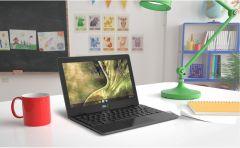"""Лаптоп ASUS Chromebook C204MA-BU0220, Intel Celeron N4000, IPS 11.6"""" HD 1366x768 TOUCH, LPDDR4 4GB, eMMC 32GB, WiFi, ChromeOS, Dark Grey"""