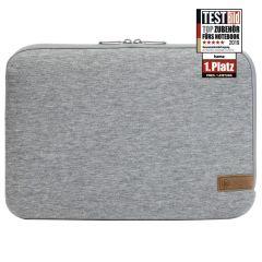 "Универсален калъф за лаптоп HAMA Jersey  до 36 см  (14.1""), Сив"